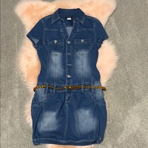 Jean dress by Venus